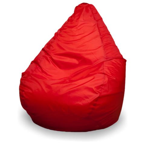 Пуффбери Внешний чехол Кресло-мешок груша  L, Оксфорд Красный