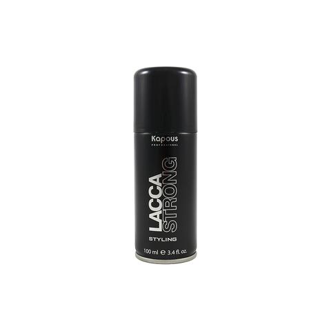 Лак аэрозольный для волос сильной фиксации «Lacca Strong», 100 мл