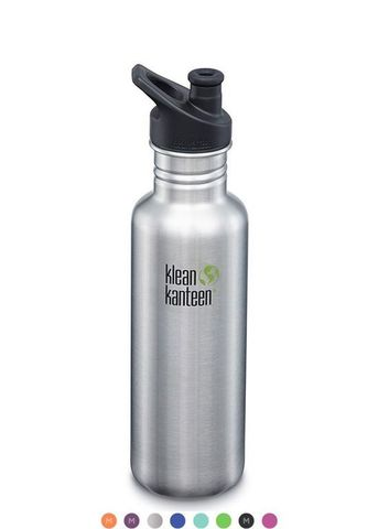 Бутылка Klean Kanteen Classic Sport 27oz (800 мл) Brushed Stainless