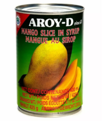 Манго в сиропе AROY-D 425 гр.