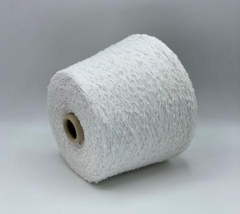 Бобинная пряжа (пр.Италия),art-Grappino 1800м/100гр,100%Полиамид, цвет-Белый, арт.9356
