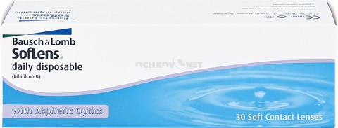 Soflens Daily Disposable 30 линз BC 8.6
