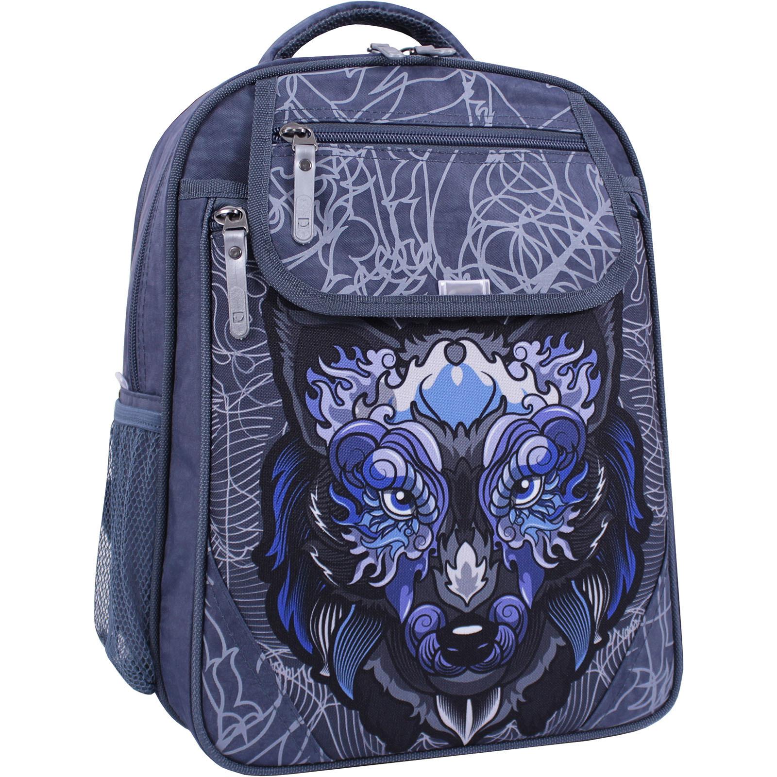 Школьные рюкзаки Рюкзак школьный Bagland Отличник 20 л. 321 серый 506 (0058070) IMG_1283.JPG