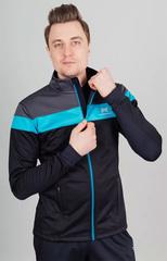 Утеплённая лыжная куртка Nordski  Drive Black-Blue