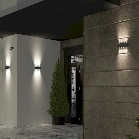 Уличный настенный светодиодный светильник 358561 серии CALLE