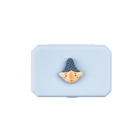 Футляр для контактных линз FRUITS BLUE