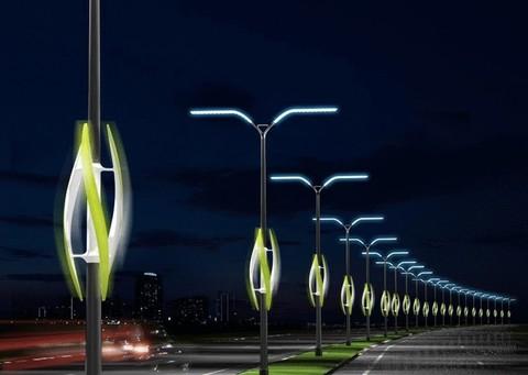 Монтаж уличных светильников