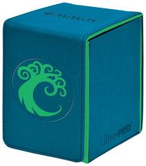 Ultra Pro - Кожаная коробочка Simic (100 карт)