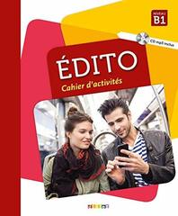 Edito B1 - Cahier + CD