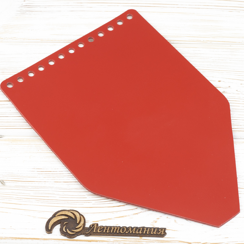 """Вся фурнитура Клапан для рюкзачка кожаный """"Красный"""" IMG_7359.jpg"""