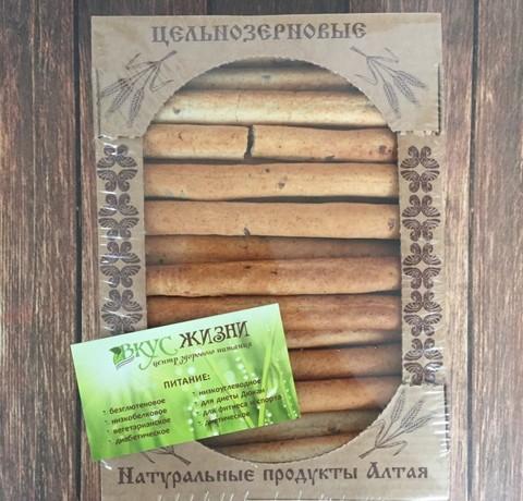 Палочки ц/з хлебные со льном  мини 400г Дивинка