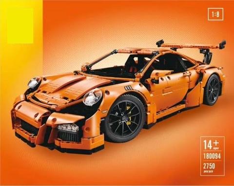 Конструктор Technican 180094 Porsche 911 GT3 RS orange