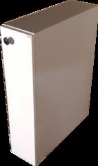 Распашная тумба R(правая) к раковине Solo Blues 80 L(левая чаша)