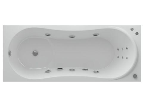 Ванна акриловая Aquatek Афродита 150х70см. на каркасе и сливом-переливом.