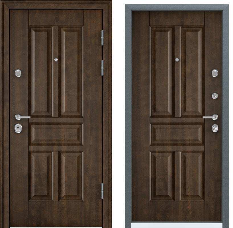 Входные двери Torex Ultimatum M PK-9U орех грецкий с двух сторон generated_image-10.jpg