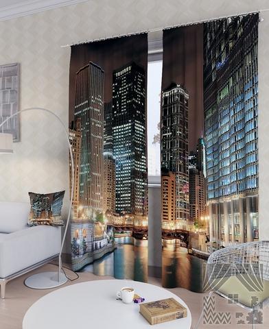 Комплект фотоштор Вечерний Чикаго