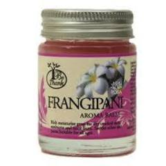 Цветочный аромабальзам для массажа и ухода за кожей франжипани  BE THANK