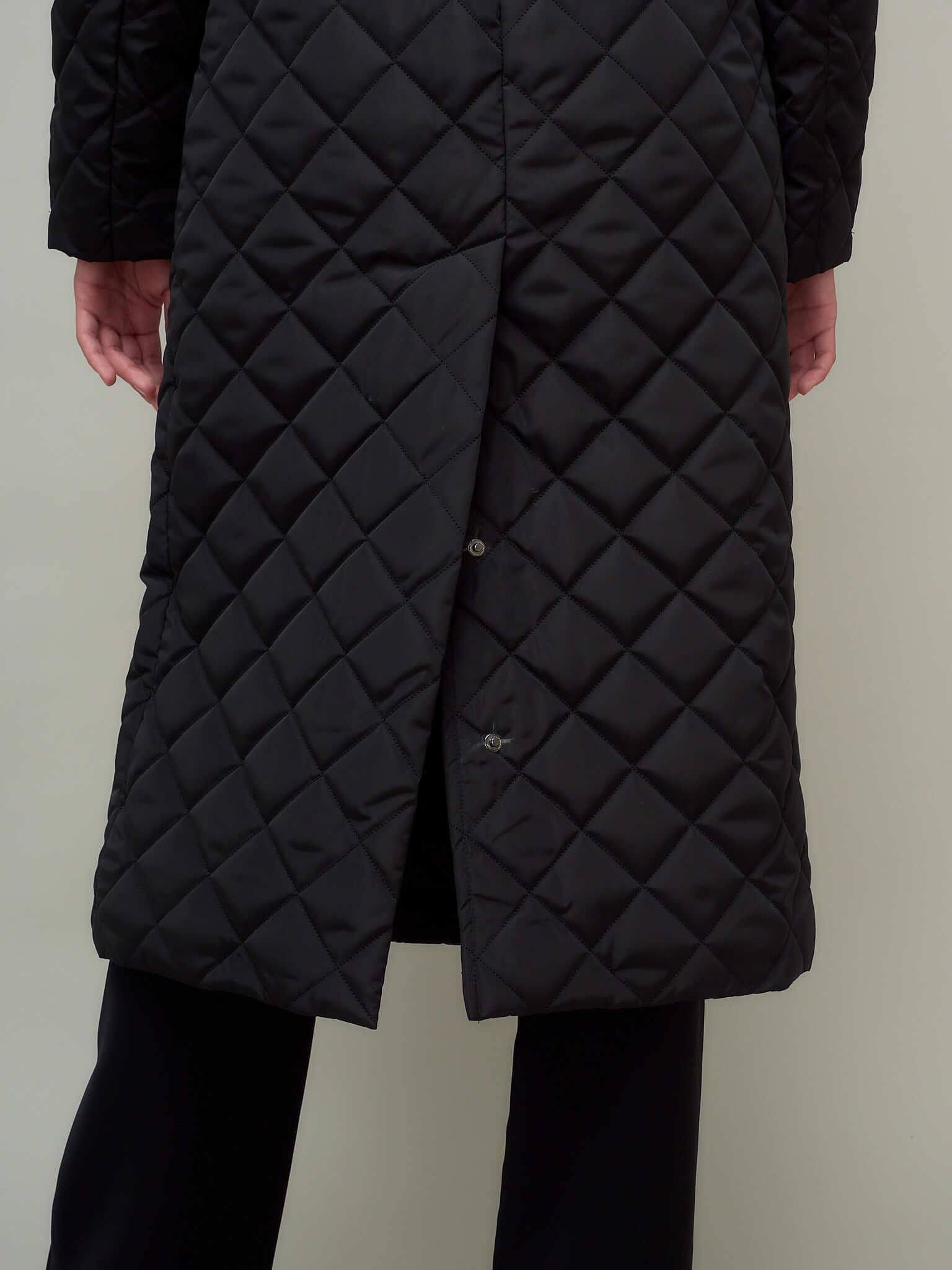 Пальто стеганое