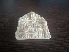 Силиконовый молд Дверь деревянная ( серия домики для гномов и фей)