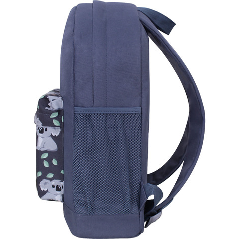 Рюкзак Bagland Молодежный W/R 17 л. Серый 990 (00533662)