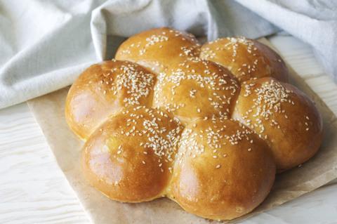 хлеб ромашка