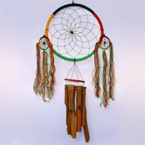 Ловушка снов с музыкой ветра Бамбук