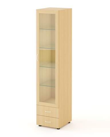 Шкаф-пенал П-02 дуб беленый