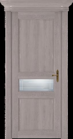 CLASSIC 534 Дуб Серый стекло Грань