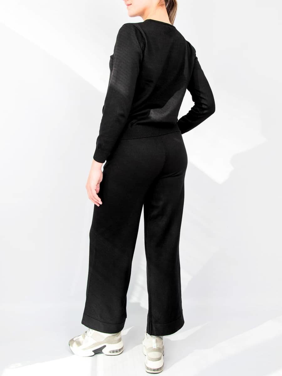 Комплект тройка кардиган с кофтой и брюками