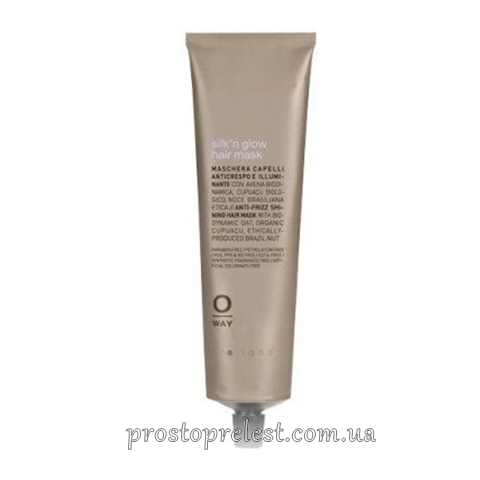 Rolland Oway Silk'n'Glow Hair Mask - Маска з анти-фриз ефектом