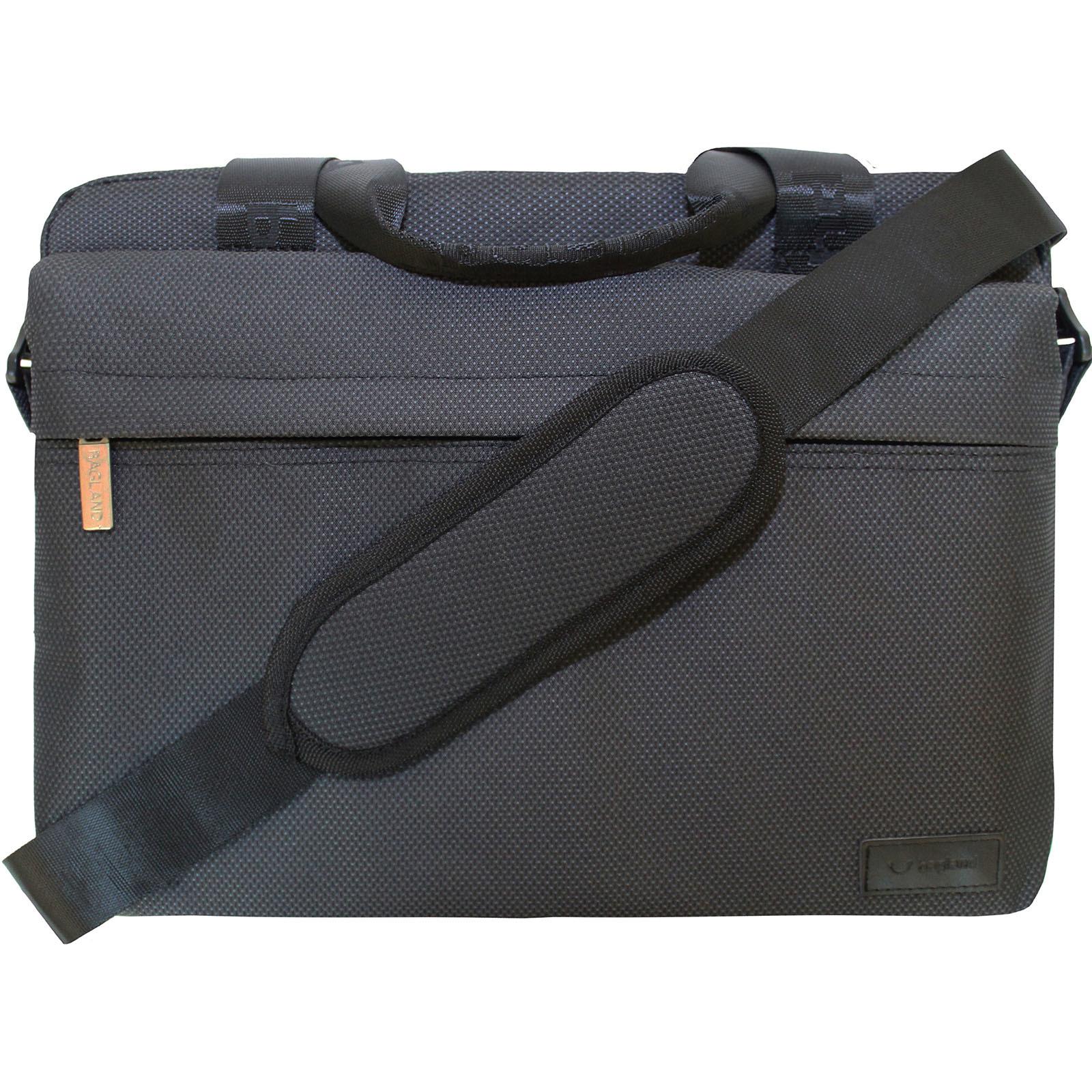 Сумка под ноутбук Bagland Salivan 8 л. Черный (00403169)