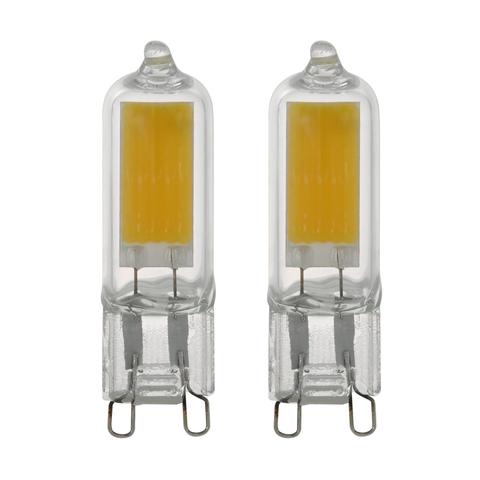 Лампа (комплект 2 шт.) Eglo LED LM-LED-G9 2х3W 200Lm 3000K G9-LED 11676