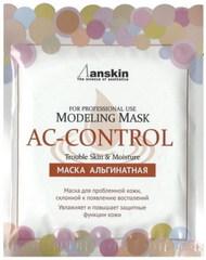Маска альгинатная для проблемной кожи, акне  Anskin Original (саше)  AC-Control Modeling Mask / Refill 25гр