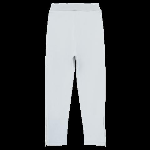 Серые трикотажные брюки