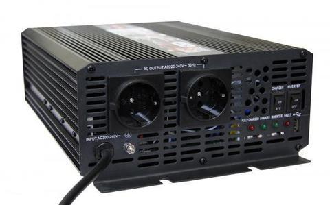 Преобразователь тока (инвертор) AcmePower AP-UPS1000/12