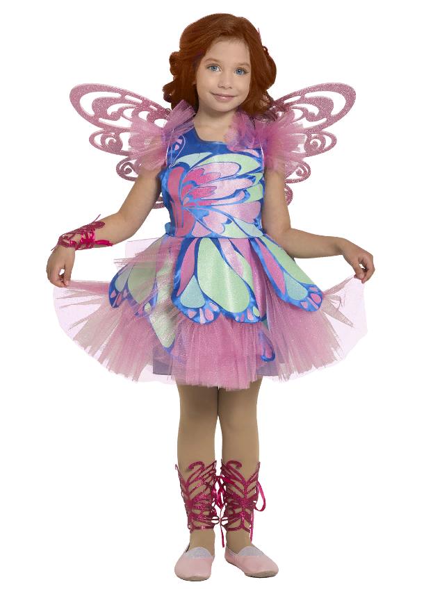 Карнавальный Костюм фея Блум для девочки