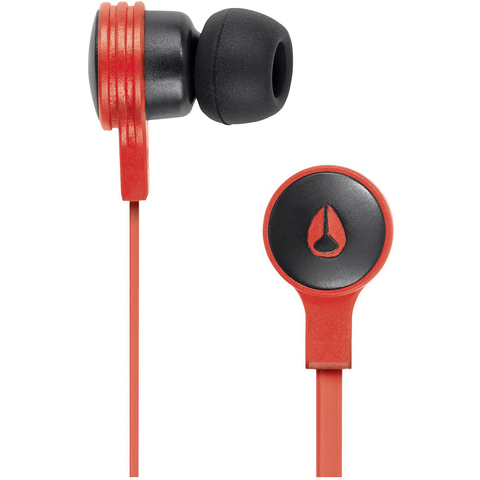 Наушники NIXON Jam Red Pepper / Black (H025)
