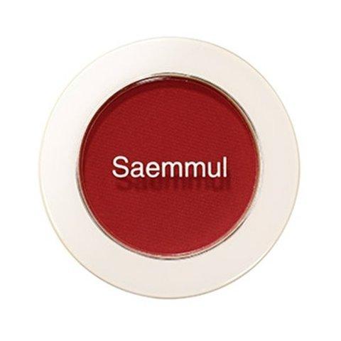 Тени для век The Saem Saemmul Single Shadow Matt Rd01 матовые красные 1,6 гр