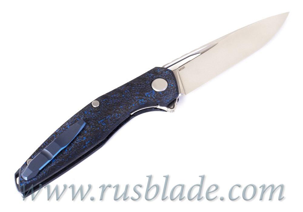 Shirogorov 111 Gen 5 Blue CF M390 - фотография
