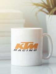 Кружка с рисунком KTM (KTM AG) белая 005