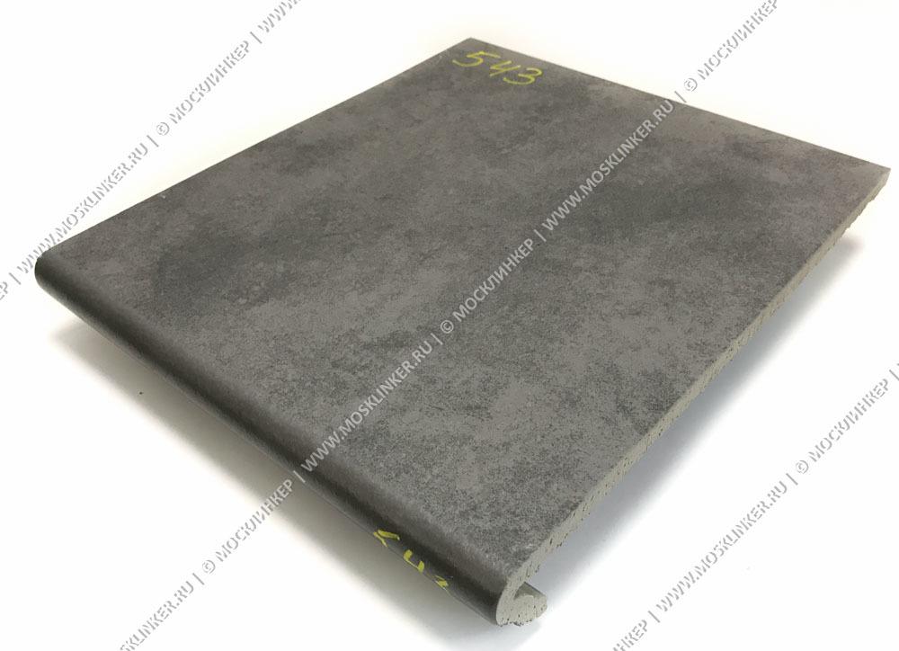 Stroeher - Euramic Cavar E 543 fosco 340х294х11 артикул 9350 - Клинкерная ступень - флорентинер