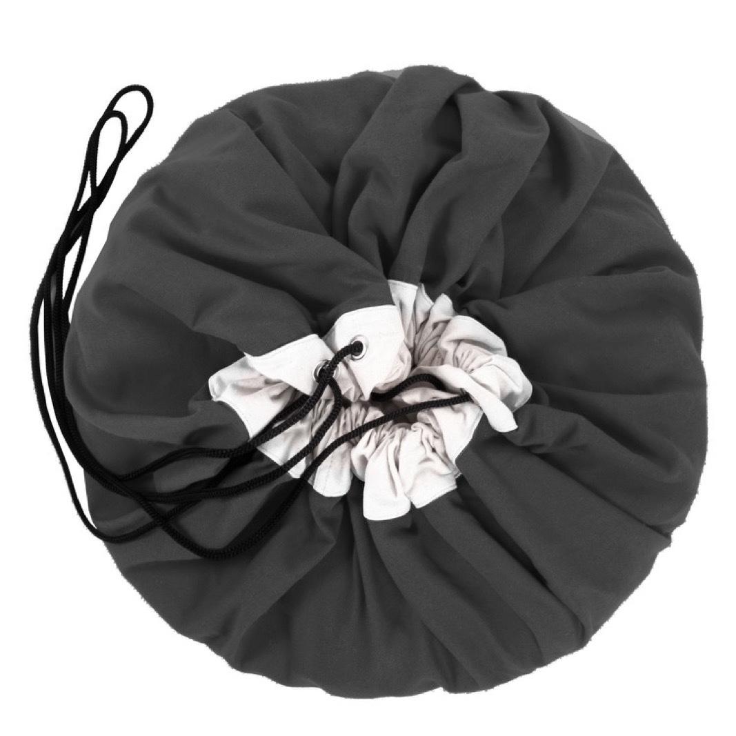 Коврик-мешок для игрушек Play&Go. Коллекция Classic. Чёрный