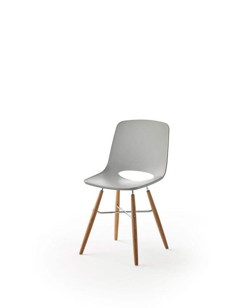 Дизайнерский стул PC-450 светло-серый