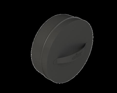 Grill'D Заглушка с ручкой, D250, черный(порошковая краска)
