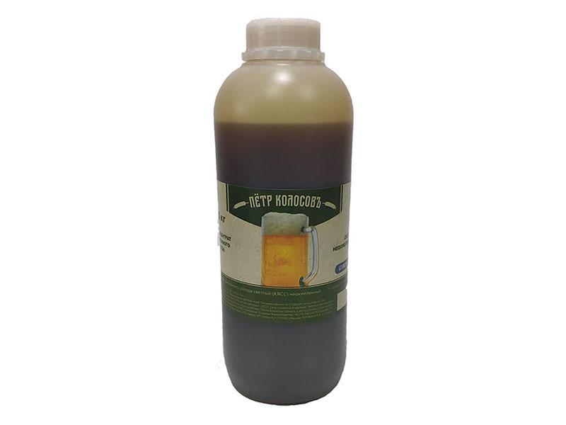 Экстракты Неохмеленый солодовый экстракт Пивоварня.Ру Светлый 1,3 кг светлый.jpg