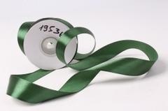 Лента атласная 2,5см*25ярд темно-зеленый