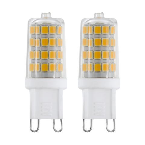 Лампа (комплект 2 шт.) Eglo LED LM-LED-G9 2х3W 360Lm 4000K G9-LED 11675
