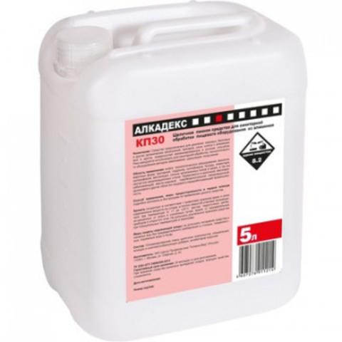Моющее средство для очистки технологического оборудования Алкадекс КП 30 5 л (концентрат)