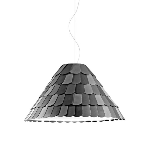 Подвесной светильник копия Roofer F12 by Benjamin Hubert (серый)