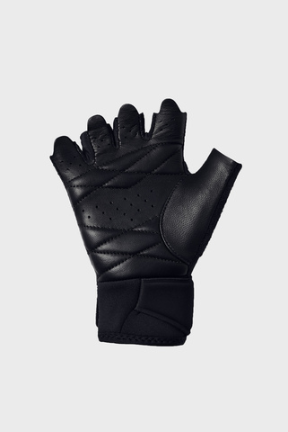 Женские черные перчатки Women's Weight Lifting Glove Under Armour